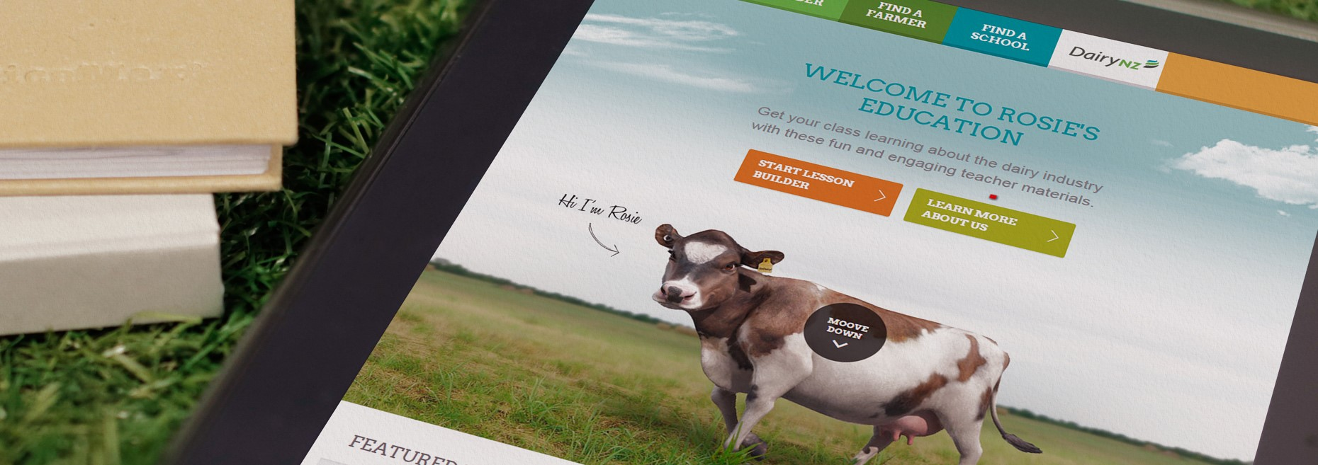 DairyNZ Rosie's Education Homepage